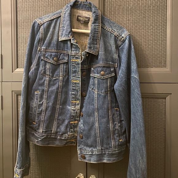 Jcrew Indigo denim jacket, like new